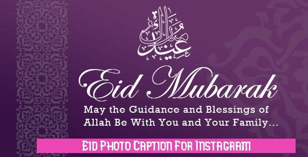 Eid Photo Caption For Instagram