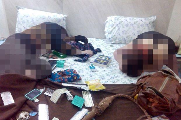 rakyat malaysia mati dibunuh, rakyat malaysia maut di hatyai, gambar mayat dalam hotel