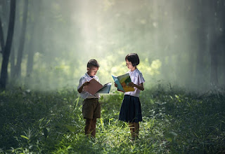 membaca nyaring