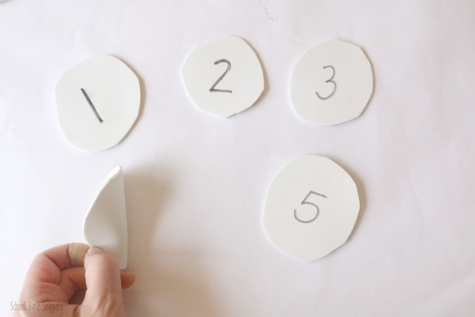 Preschool Number Recognition Game