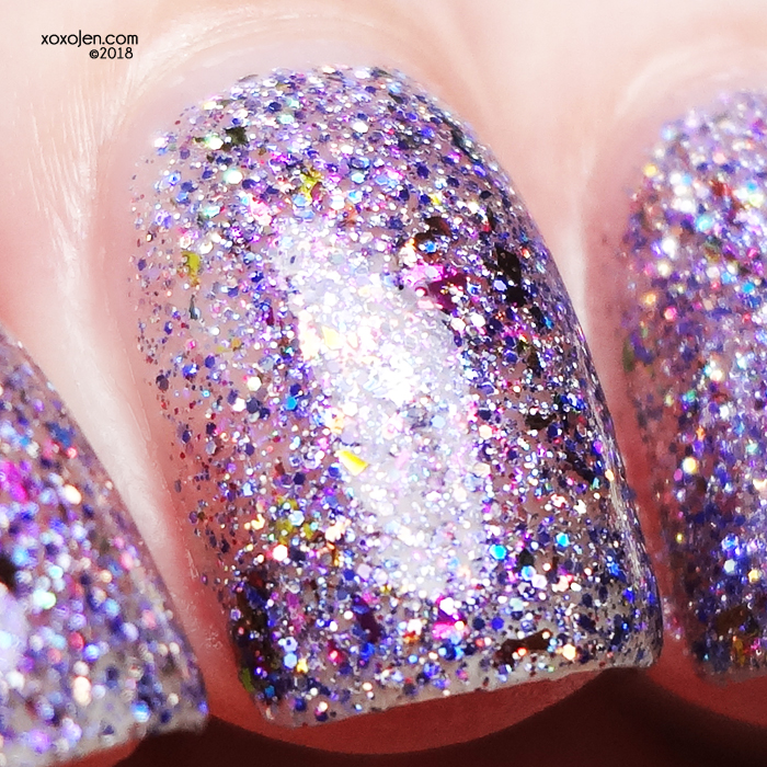 xoxoJen's swatch of Twisting Nether Sugar Plum Fairy