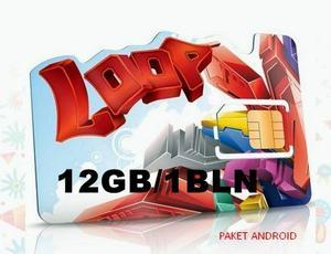 Kartu Perdana Simpati Loop 12 Gb 24 Jam