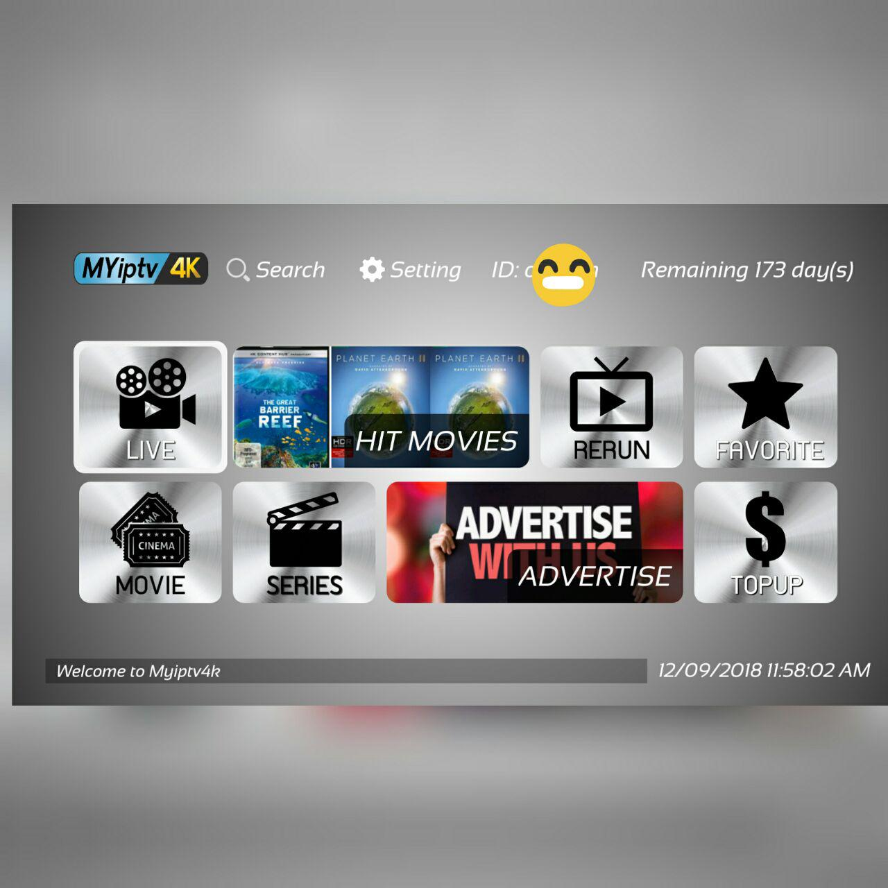 ANDROID TV BOX IPTV: CARA UPDATE MYIPTV4K APK