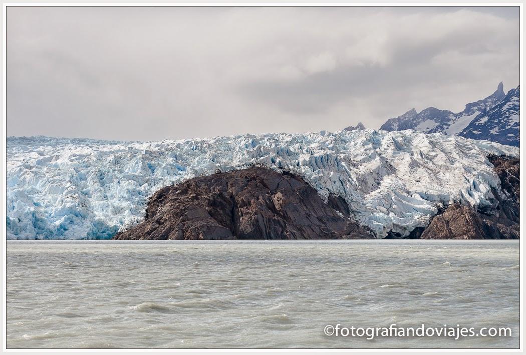 Detalle de Nunatak en Glaciar Grey