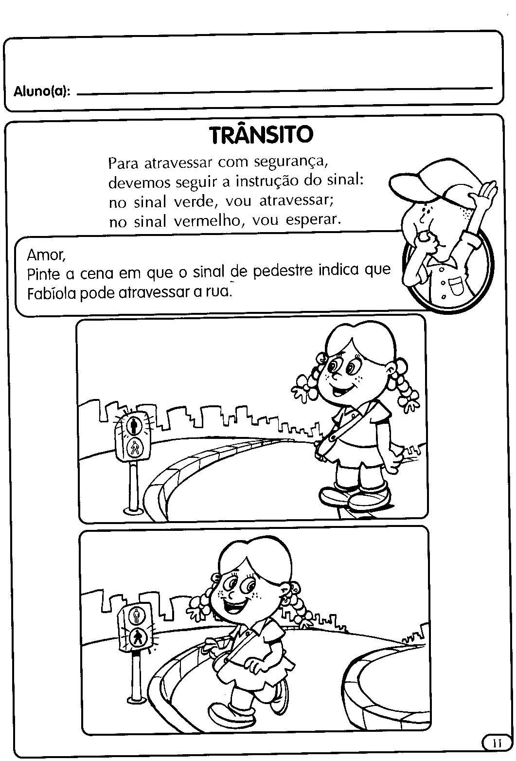atividades para a educação infantil o trânsito espaÇo educar