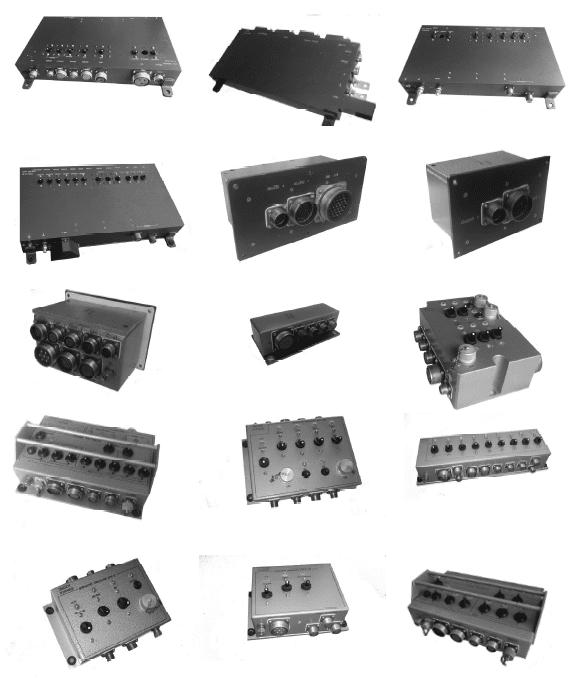 уніфікована апаратура подачі, управління та контролю системи електроживлення систем машини управління