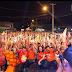 Em Belém, Prefeito Evandro Maia arrasta multidão nas ruas para comício