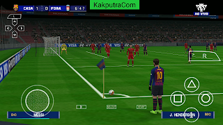 [200 MB] PES 2019 LITE Ukuran Kecil PPSSPP CAMERA PS4 Android | HD GRAPHICS