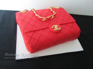 bolo aniversário Mala Chanel