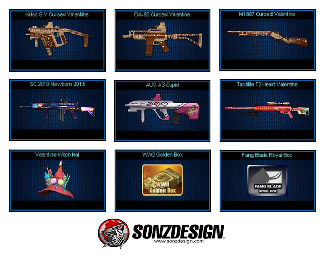 Valentine Days! Inilah Patch Note 12 Point Blank Beyond Limits!