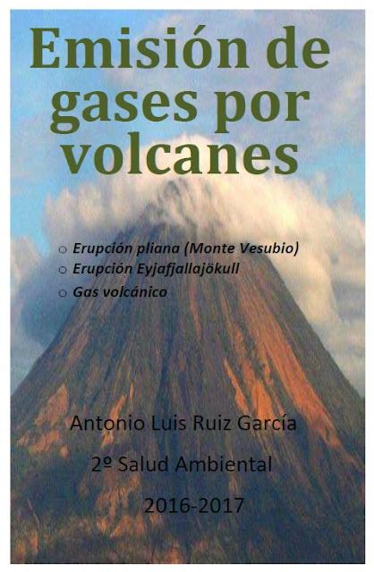 Emisión de gases por volcanes