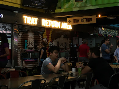 tray return at 73A Ayer Rajah Crescent