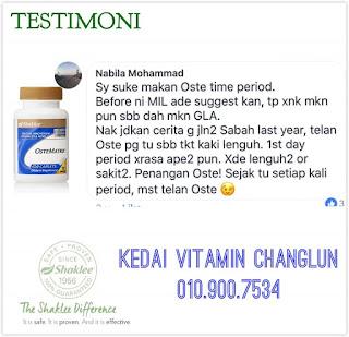 Testimoni Ostematrix : Pengalaman Nabila Mohammad