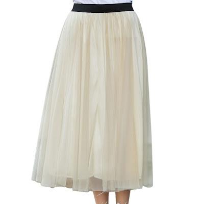 Model Rok Sifon Selutut Warna Putih 2016