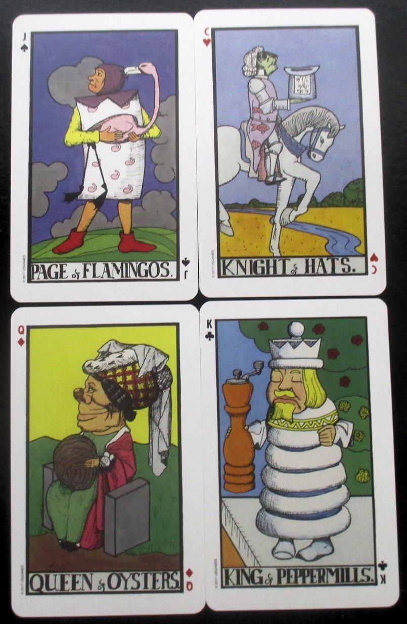 Tarot Notes: REVIEW: Wonderland Tarot In A Tin