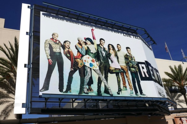 Rent Live TV billboard