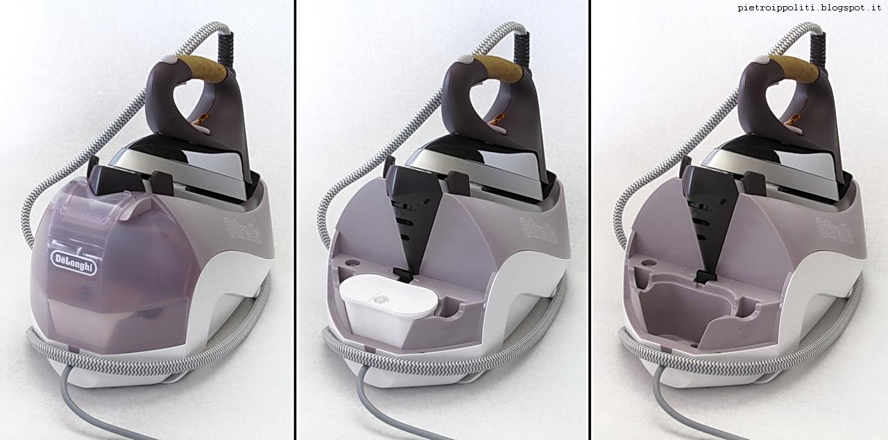 De Longhi Stirella Pro1870XS, serbatoio e filtro