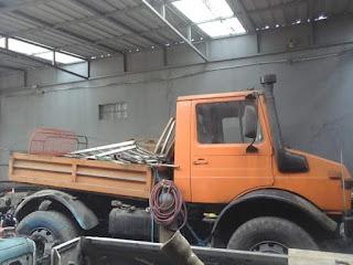 Dijual Truk UNIMOG 1300 Diesel Heavy Duty 1986