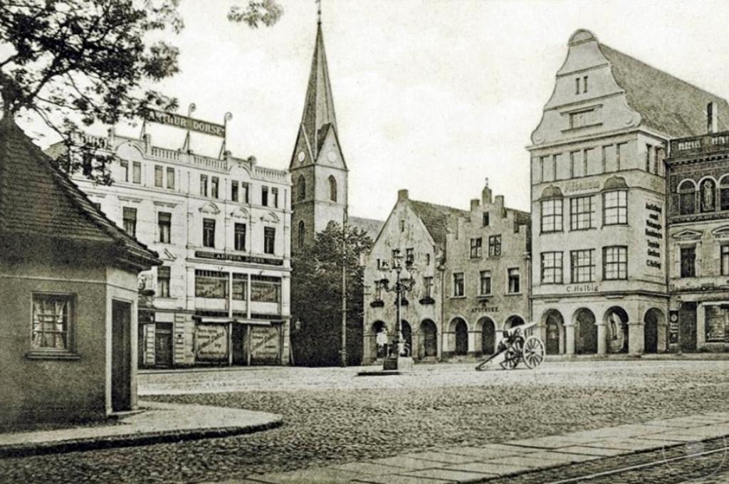 Stary Olsztyn /4/. Kościół ewangelicko-augsburski w Olsztynie