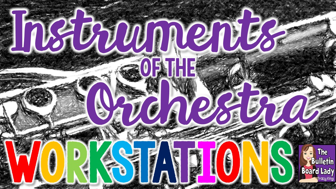 Mrs. King's Music Class: Instruments of the Orchestra Workstations [ 720 x 1280 Pixel ]