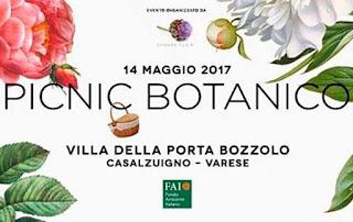 PicNic botanico nel Roseto 14 maggio Casalzuigno (VA)