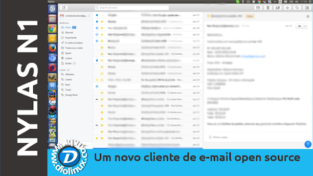 Nylas N1 cliente de e-mail open source