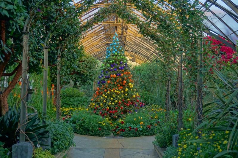 Mediterranean Garden Longwood Gardens Navidad