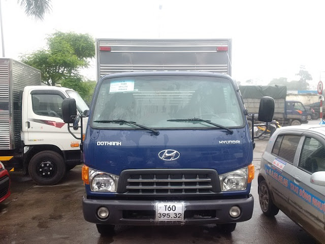 Hyundai HD120 8 tấn Thùng kín