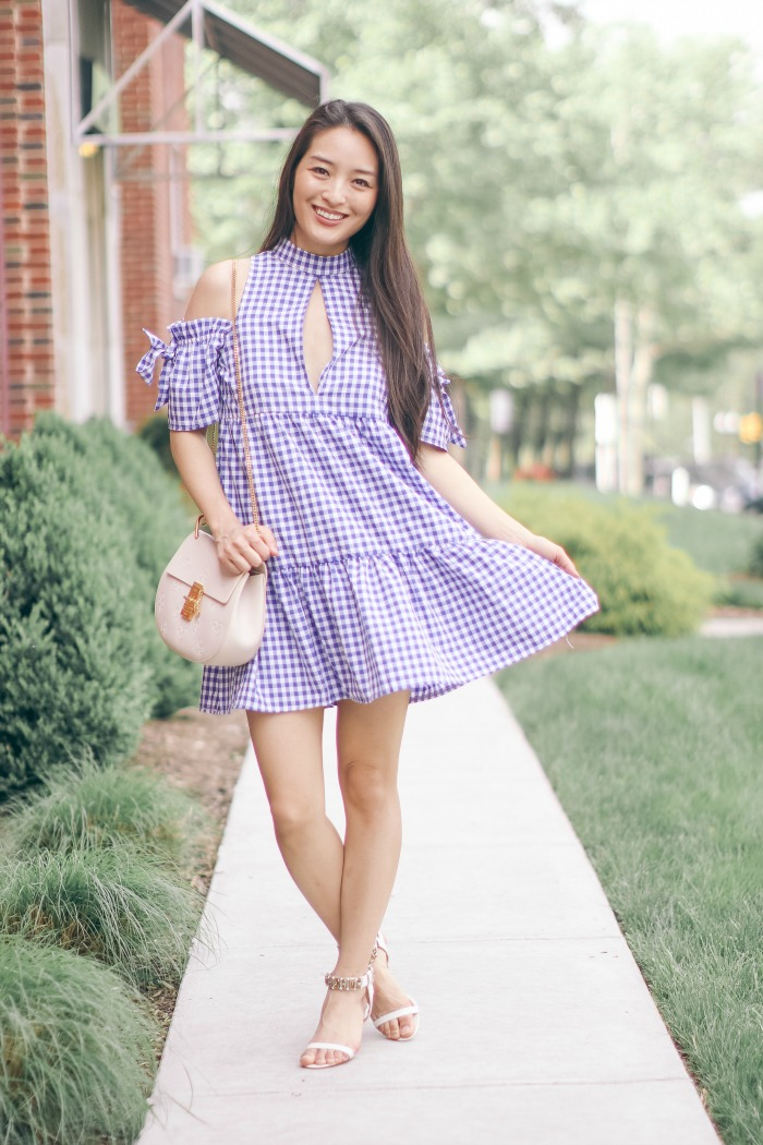 Gingham Summer Dress