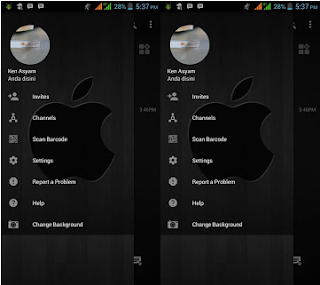 BBM Mod Change Background V3.2.3.11Apk
