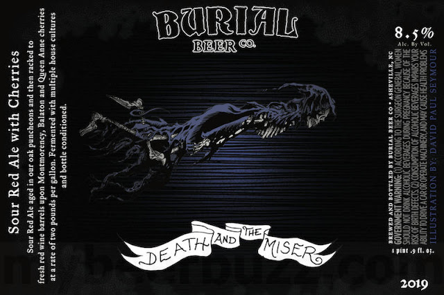 Burial Beer - Old Black Hen, Death And The Miser, Metallic Vessels & Talonsword