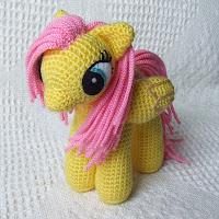 pelo para amigurumi mi pequeño pony