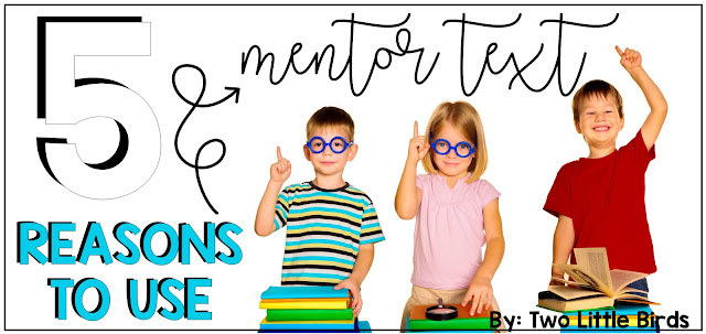 5 Reasons to Use Mentor Text