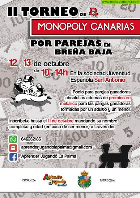 SAN ANTONIO: Torneo de Monopoly Canarias por parejas