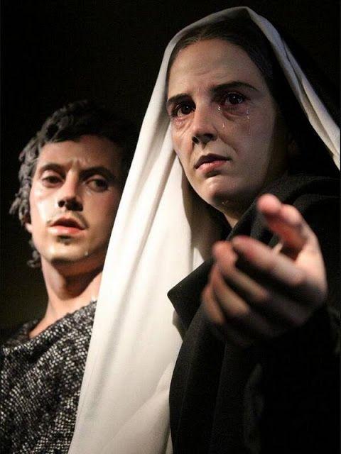 Virgen María con San Juan Evangelista