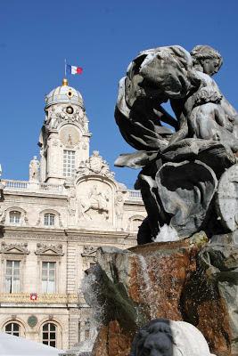 place des terreaux fontaine bartholdi - visite guidée de Lyon - Nicolas Bruno Jacquet