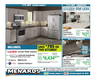 Menards Weekly Ad August 12 - 18, 2018 Hot Buys