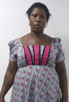 woman caught cocaine lagos