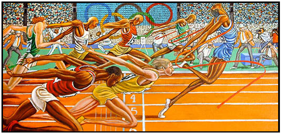 Art Now And Then Ernie Barnes