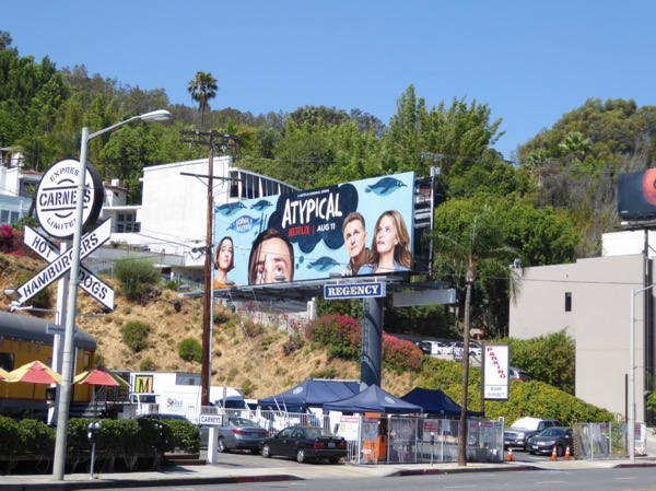 Atypical TV series billboard