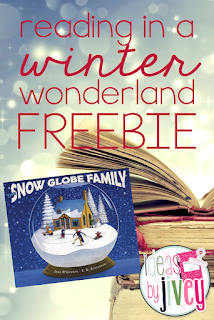 Reading In A Winter Wonderland Freebie with Ideas by Jivey.