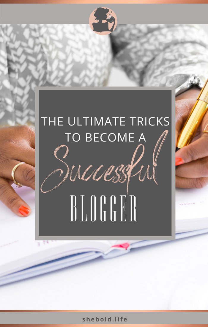 How to become a successful blogger!