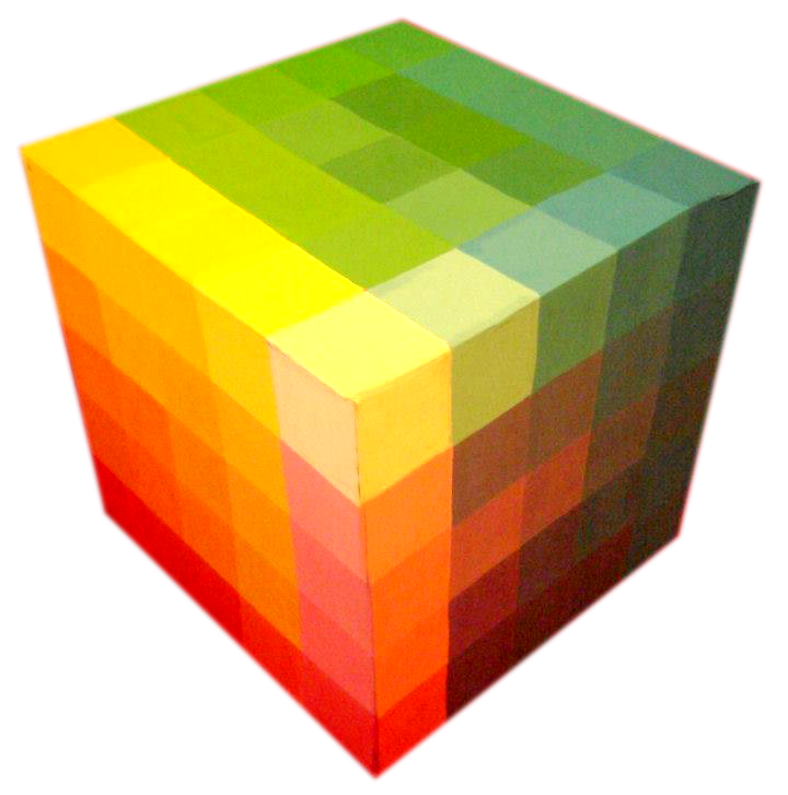 Cómo Se Hace Un Cubo De Color De Alfred Hickethier Marbelucci
