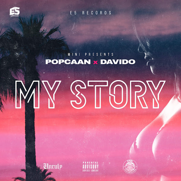 Popcaan & Davido - My Story - Single Cover