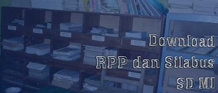 Lengkap RPP Silabus KTSP SD MI