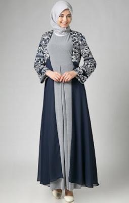 Gamis dress batik modern