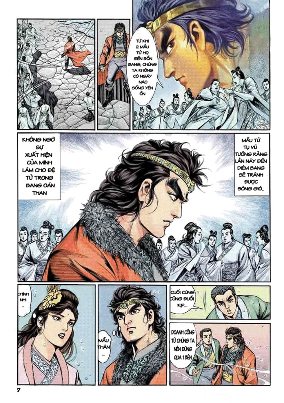 Tần Vương Doanh Chính chapter 8 trang 8