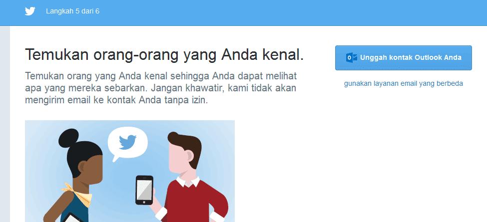 kontak twitter