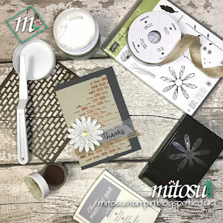 Stampin' Up! Embossing Paste Order SU Stampinup Products from Mitosu Crafts' Online Shop UK 2
