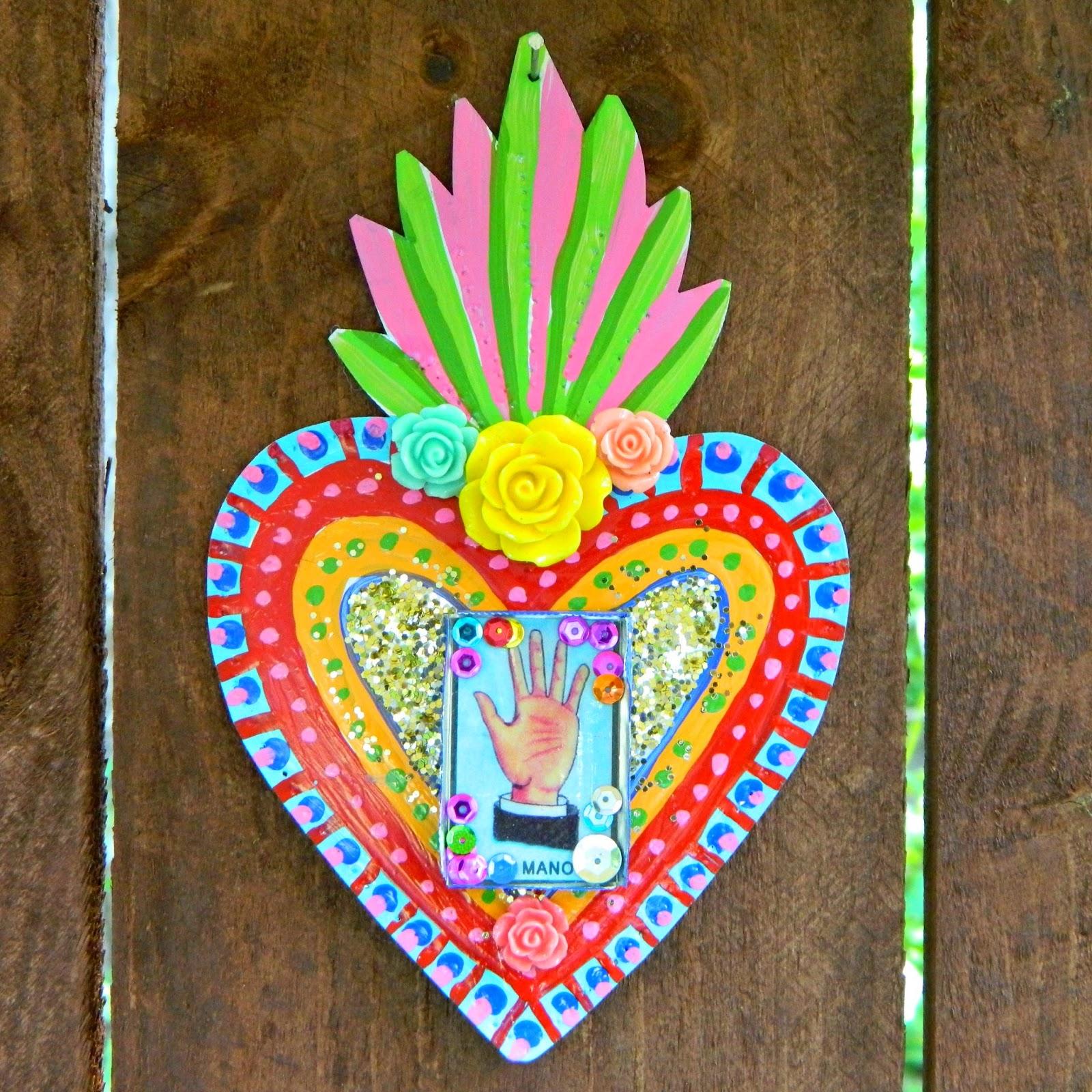 Mark Montano Mexican Tin Folk Art Diy